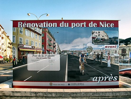 LA RENOVATION DU PORT DE NICE