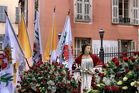 NICE, LA PROCESSION DE SAINTE REPARATE 2010